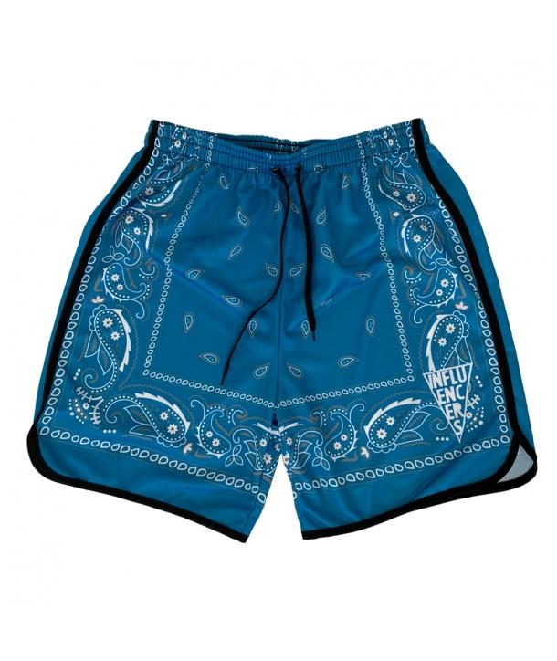 SHORT BANDANA BLUE