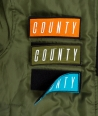 COUNTY BOMBER ARMY GREEN